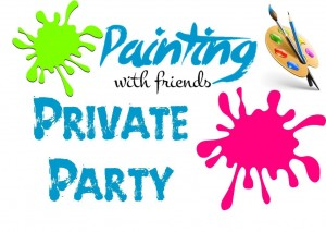 BLANK Private Party Logo