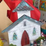 CHURCH PAINTED